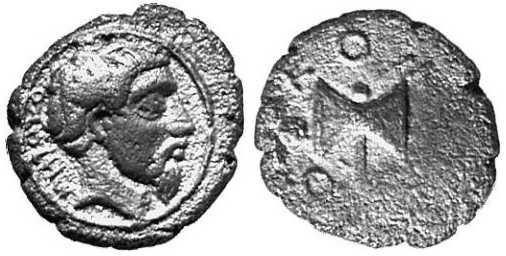 1257 Metocus Rex Thraciae AR