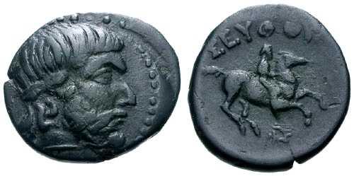2272 Seuthes III Rex Thraciae AE