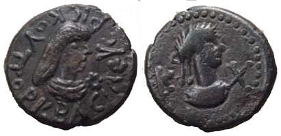 1051 Rhescuporis V Regnum Bosporanum AE