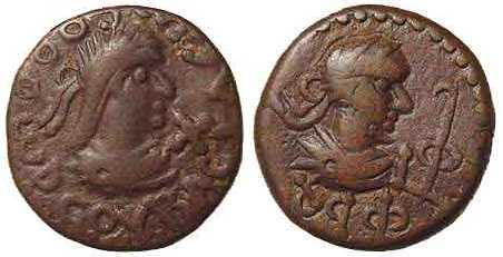 1508 Thothorses Regnum Bosporanum Stater AE